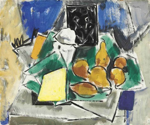 abstract still life by alfred henry maurer