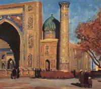 près de la mosquée by mikhail akinchine