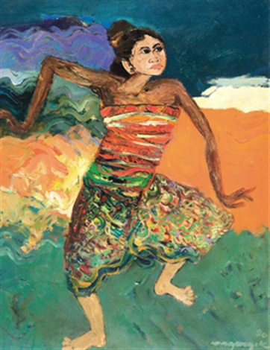 Dancer By Bagong Kussudiardja