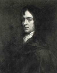 portrait of a man in a brown coat (lord william hamilton?) by john greenhill