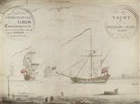 "his majesty's yacht ""william & mary"" by thomas baston"