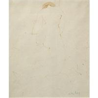 kneeling nude ii by milton avery