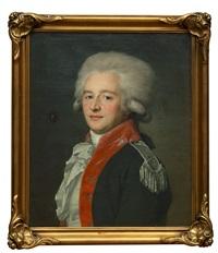 portrait of baron pyotr fyodorovich maltits by jean voilles