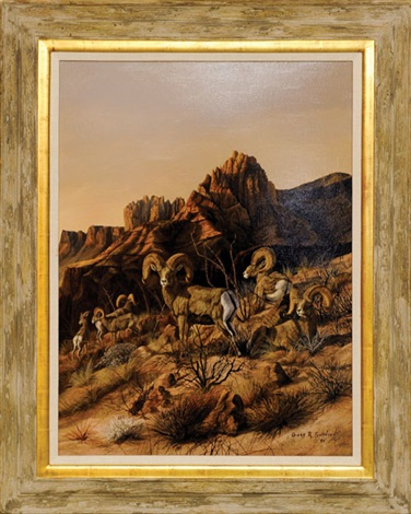desert sheep by gary r swanson