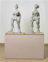 untitled (twins) by rebecca warren