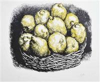 cesto di limoni by renato guttuso