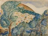 landscape by avraham melnikov