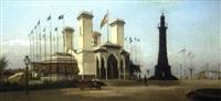 le pavillon espagnol à l'exposition universelle de 1889 by achile batiztutzzi