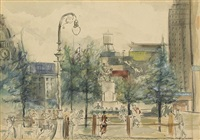 untitled (union square, new york) by joseph delaney