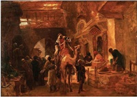 middle eastern market by rudolf ernst