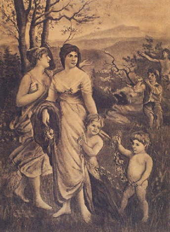 spring allegory by georgios avlichos
