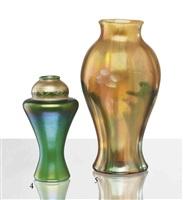 tel-el-amarna vase by tiffany studios