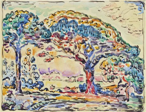 saint tropez la baie after la baie saint tropez cachin no 431 by paul signac