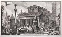 recueil des plus belles ruines de lisbonne causées par le tremblement et par le feu du 1er novembre (set of 6) by jacques philippe le bas