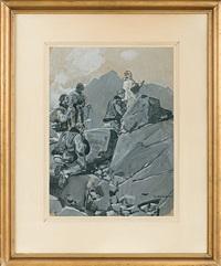 tatra trekking by wojciech kossak and michal gorstkin-wywiorski