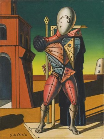 il trovatore by giorgio de chirico
