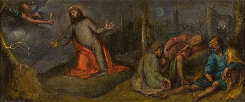 le christ au jardin des olives by simon de vos