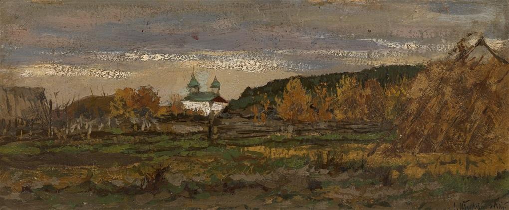 autumn by leonard leonid viktorovich turzhansky