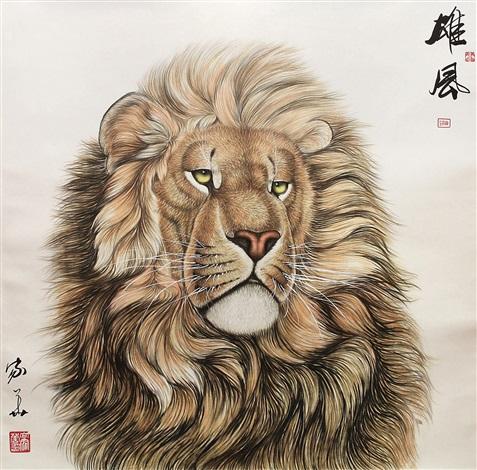 lion by xiang jiahua