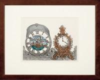 two clocks by sumio kawakami