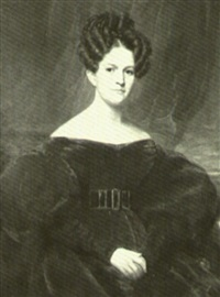 portrait of a woman (collab. w/ william jewett) by samuel lovett waldo