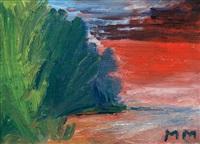 sunset by mauno markkula