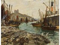 tarbert harbour by james kay