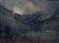 vallée animée by paul huet