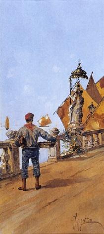 Giuseppe Vizzotto Alberti, Pescatore a Chioggia