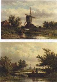 dutch country life by georgius heerebaart