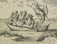 die blau schuyte (ship of depravity) by hieronymus bosch