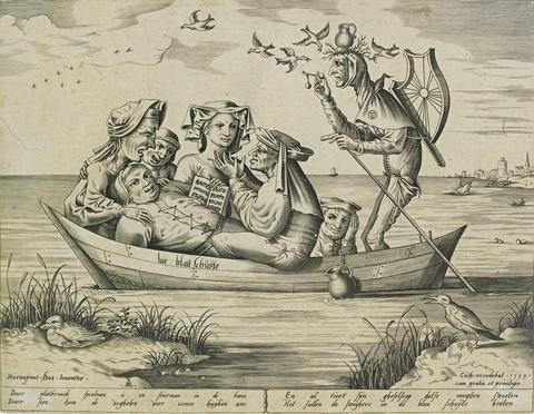 die blau schuyte ship of depravity by hieronymus bosch