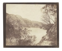 loch katrine, 19-21 october (from sun pictures in scotland) by william henry fox talbot