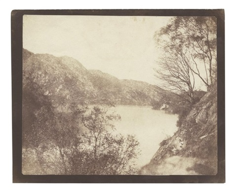 loch katrine 19 21 october from sun pictures in scotland by william henry fox talbot
