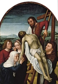 the deposition by gerard david