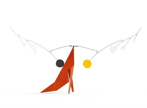 the red base by alexander calder