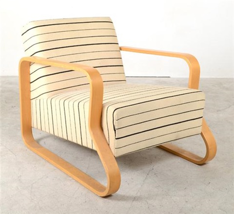 model no 44 lounge chair by alvar aalto