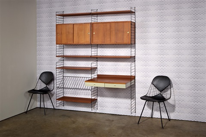 Nisse Strinning string ladder shelf system by karin nisse strinning on artnet
