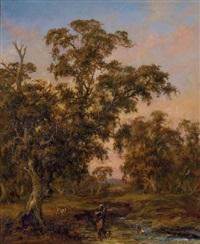 australian landscape by alexander schramm