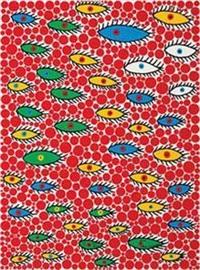 2004 空さ飞ぶ目 108/120 by yayoi kusama