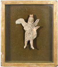 untitled (winged figure) by elie nadelman