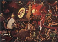 the harrowing of hell by pieter huys