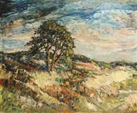 paysage de corse by pierre bach