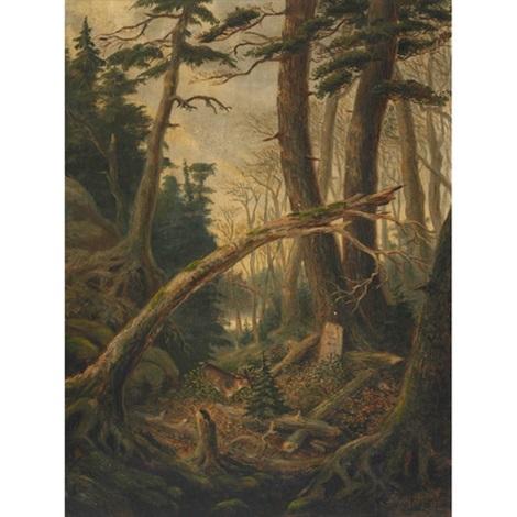 the huntsmans grave by joseph julius humme