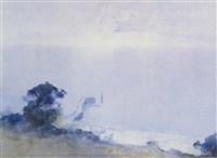 untitled - portsea coastline by theodore penleigh boyd