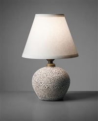 table lamp, model no. 3301a by jean besnard