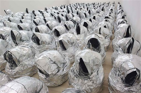 ghost (264 parts) by kader attia