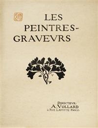 couverture pour l'album les peintres-graveurs by georges auriol