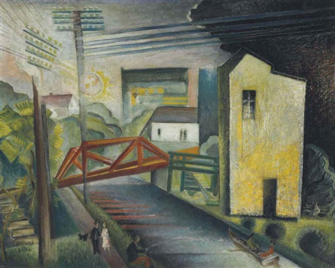 the trestle by werner drewes