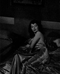 portrait of ava gardner by j.r. eyerman